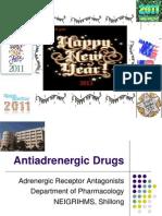 Antiadrenergic Drugs - Drdhriti
