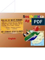 Tesi Inglese South Africa