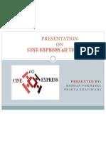 Cine Express 4d Theater