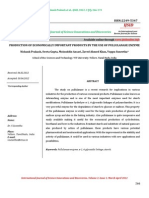 Production of economically important products by the use of pullulanase enzyme