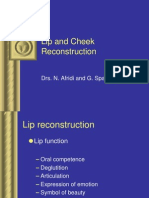 Lip and Cheek Reconstruction