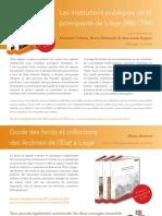 Presentation Guides Liege Flyer