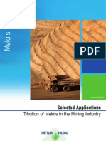 Appl. Brochure Nr. 42 Metals in the Mining Industry