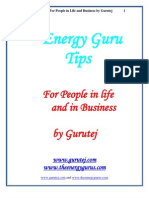 EnergyGuruTips_GurutejKhalsa
