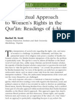 A Contextual Approach to Women's Rights in the Quran - Readings of 4-34