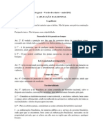 Anteprojeto CJ Código Penal