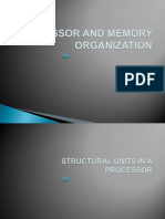 Processor and Memory Organization