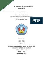 PERANAN GURU DALAM PENGEMBANGAN KURIKULUM.doc