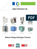 CG LUCY ETC Medium Voltage Switchgear Products