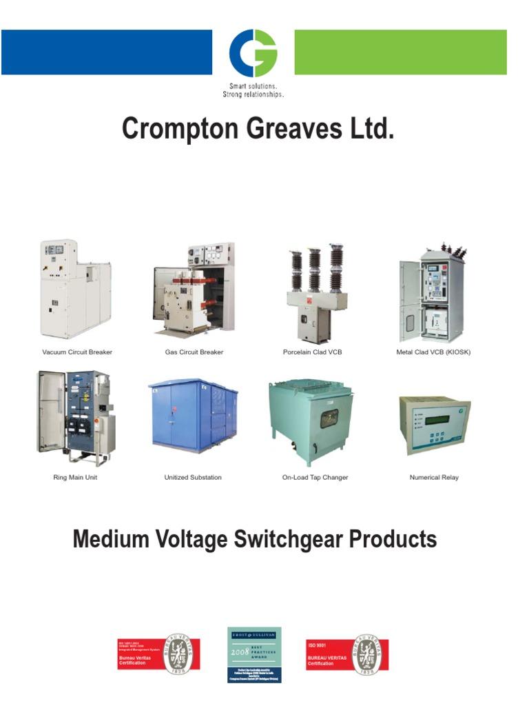 CG LUCY ETC Medium Voltage Switchgear Products
