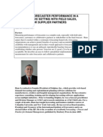 Forecasting Performance of Collaborative Partners