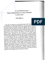 Mills Jon 2010 Genocide and Ethnocide - The Suppression of the Cornish Language