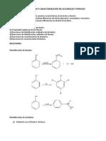 IDENTIFICACIÓN Y CARACTERIZACIÓN DE ALCOHOLES Y FENOLES