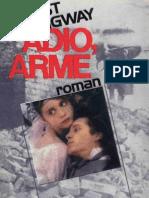 HEMINGWAY, Ernest - Adio, Arme