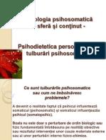 Patologia psihosomatică. Psihodietetica persoanelor cu tulburări psihosomatice