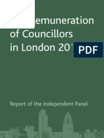 London Councils Remuneration Report for Councillors