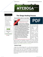 The Eboga Healing Process - Personal Observations by Lee Albert