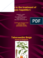 Antiviral Effects of Ibogaine and Hepatitis - Lotsof