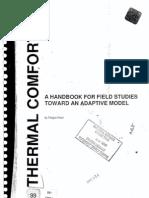 Thermal Comfort Hand Book Nicol Fergus