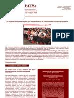 Boletin Wayra. Año 2, N°32 Junio 2006