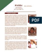 Boletin Wayra. Año 2, N°36 Octubre-Noviembre 2006