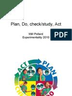 Plan Do Check Study Act  with Diagrams