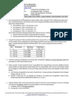 Soal UAS Statistik UMBYogya