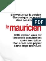 Le Mauricien 19 Aout 2011