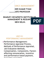 Unit 5 Performance Management