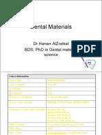 Material Properties Student 1
