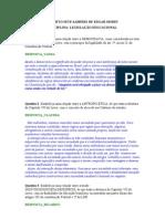 Projeto interdisciplinar - EDGAR MORIN_Legislação