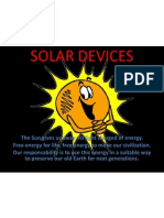 Solar Devices