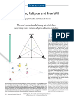 Evolution, Religion, And Free Will