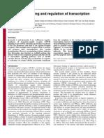 Beta-arrestin signaling and regulation of transcription