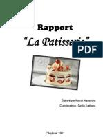 Rapport Patisserie