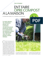 Comment faire son propre compost à la maison
