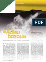 Le programme « Adieu bazou »