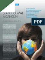 Accord sur le climat à Cancún