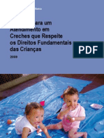 CRITÉRIOS PARA ATENDIMENTO EM CRECHES