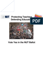 Powerpoint for NUT Reps - NASUWT NUT Joint Campaign - FINAL