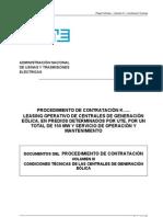 Vol III Cond_ técnicas Centrales (V18) 111012 Dataroom