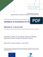 FOCUS Syllabus of Scenarios for EU Security Roles 2035
