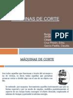 MÁQUINAS DE CORTE