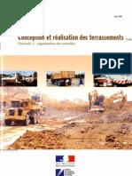 Sétra - Conception Et ion Des Terrassements Fascicul