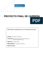 Proyecto POV led rotativo