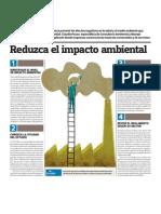 Pasos para reducir impacto ambiental