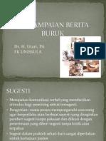PENYAMPAIAN BERITA BURUK