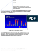 Cifras sector de hidrocarburos