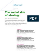 The Social Side of Strategy
