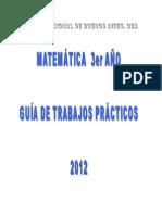 Microsoft Word - Guia Matematica de 3er Ano 2012